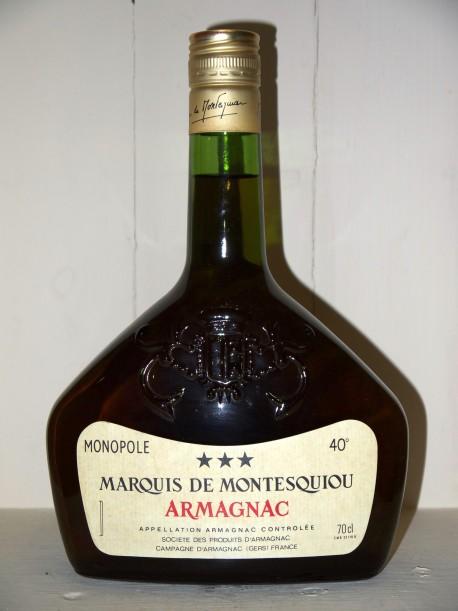 Armagnac Marquis de Montesquiou Monopole 3 étoiles