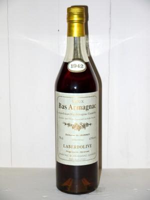 """Grand Eau de Vie  Bas Armagnac """"Vieux"""" 1942 Laberdolive"""