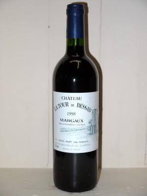 Grands vins Margaux Château La Tour de Bessan 1998