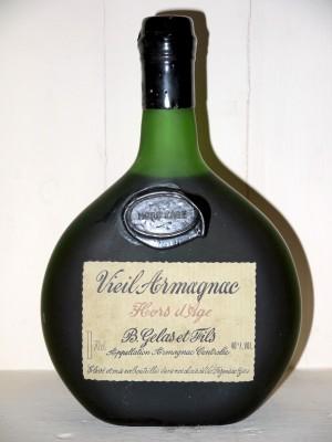 Armagnac millesime Vieil Armagnac Hors d'âge  B.Gelas & fils