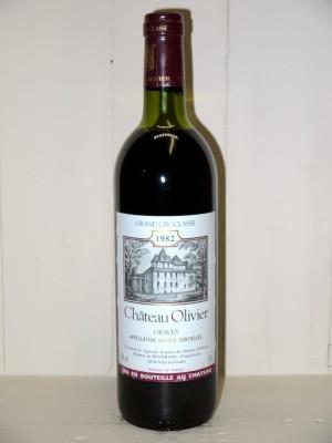 Grands crus Pessac-Léognan - Graves Château Olivier 1982