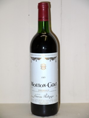 Millesime prestige Other Bordeaux appellations Mouton Cadet 1985