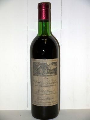 Grands vins Autres appellations de Bordeaux Château Sénailhac 1971