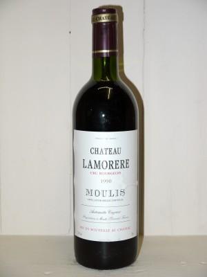 Vins grands crus Listrac-Médoc - Moulis-en-Médoc Château Lamorere 1990