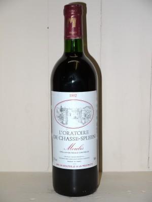 """Château Chasse Spleen 1992 """"L'Oratoire de Chasse Spleen"""""""