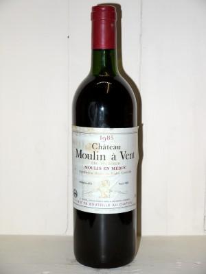 Grands crus Listrac-Médoc - Moulis-en-Médoc Château Moulin à Vent 1985