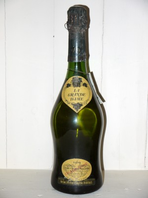 Grands crus de Champagne La Grande Dame 1969 Veuve Clicquot