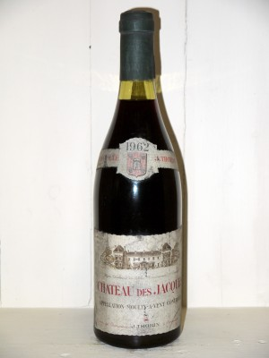 Vins grands crus Other Burgundy appellations Château des Jacques 1962 Thorin
