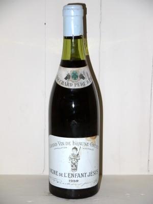 Grands crus Beaune - Savigny-les-Beaune Vigne de L'Enfant Jésus 1959 Bouchard Père & Fils