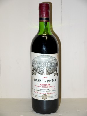 Domaine du Pin-Pin 1978