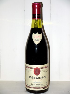 Nuits-Roncières 1978 Loiseau