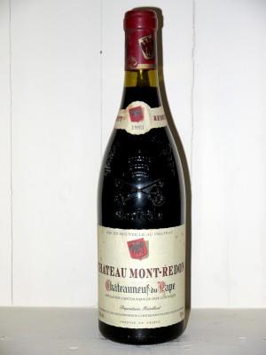 Grands crus Châteauneuf du Pape Chateau Mont-Redon 1993