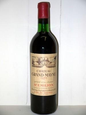 Grands crus Autres régions Château Grand-Mayne 1970