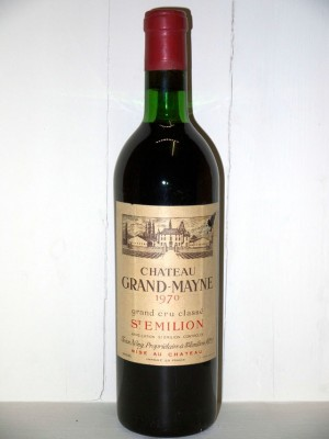 Château Grand-Mayne 1970