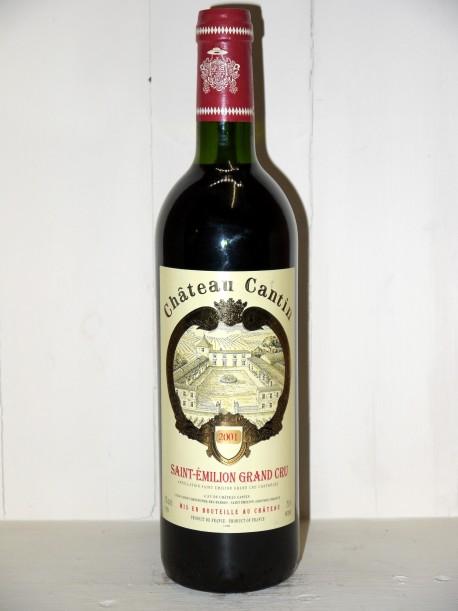 Château Cantin 2001