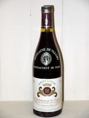 Grands vins Châteauneuf du Pape Chateauneuf du Pape 1979 Domaine de Valori