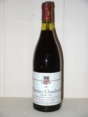 Grands vins Gevrey-Chambertin Charmes-Chambertin 1983 Le Savour Club