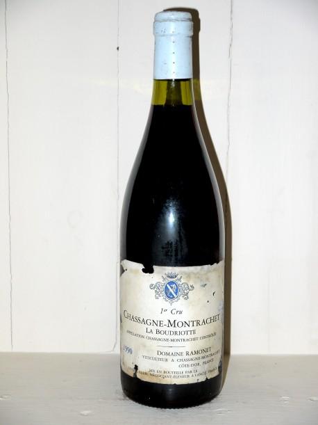 """Chassagne-Montrachet 1990 """"La Boudriotte"""" Domaine Ramonet"""