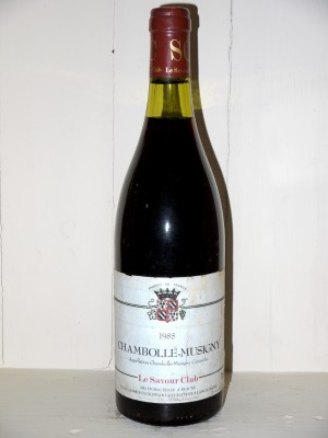 Grands vins Chambolle-Musigny Chambolle-Musigny 1985 Le Savour Club