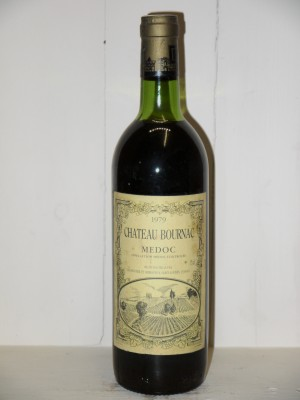 Grands vins Médoc Château Bournac 1979