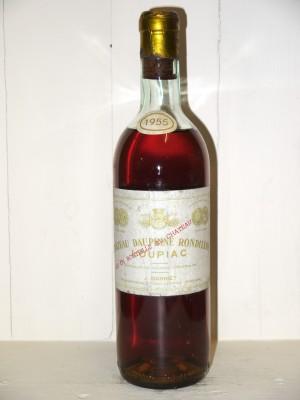 Grands vins Bordeaux Château Dauphiné Rondillon 1955