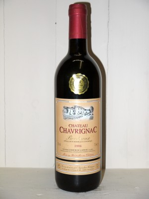 Grands vins Other Bordeaux appellations Château Chavrignac 1998