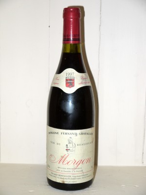 Vins anciens Other Burgundy appellations Morgon 1997 Domaine Gravallon