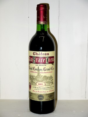 """Château La Grace Dieu """"Les Menuts"""" 1985"""