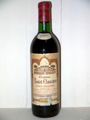 Château Pontet-Clauzure 1967