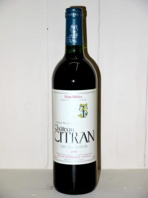 Grands vins Haut-Médoc Château Citran 2001