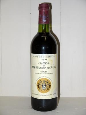 Grands vins Pessac-Léognan - Graves Château de Roquetaillade de La Grange 1975