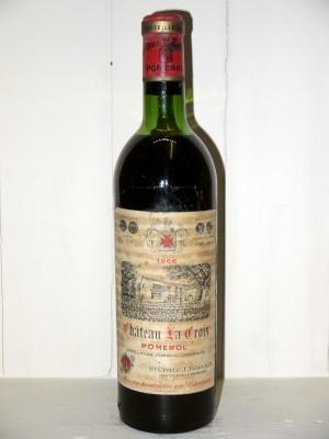 Vins de collection Pomerol - Lalande de Pomerol Château La Croix 1966