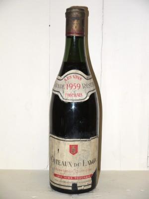 Grands vins Loire Coteaux du Layon 1959 Les Vins Touchais