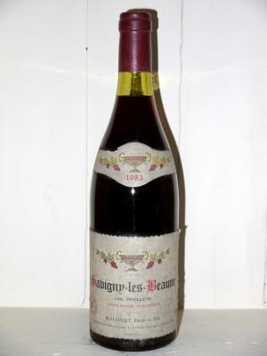 """Savigny-Les-Beaune """"Les Peuillets"""" 1983 Domaine Maldant"""