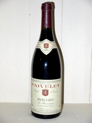 """Mercurey """"Les Mauvarennes"""" 2000 Domaine Faiveley"""