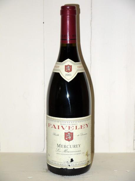 """Mercurey """"Les Mauvarennes"""" 2001 Domaine Faiveley"""