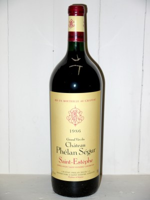 Magnum Château Phélan Ségur 1986
