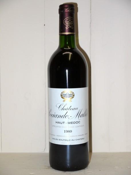 Château Sociando-Mallet 1989