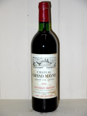 Château Grand Mayne 1986