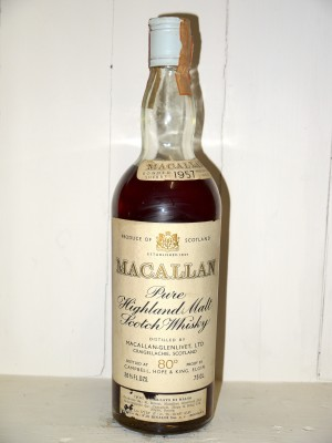"Macallan 1957 ""Pure Highland Malt Whisky"""