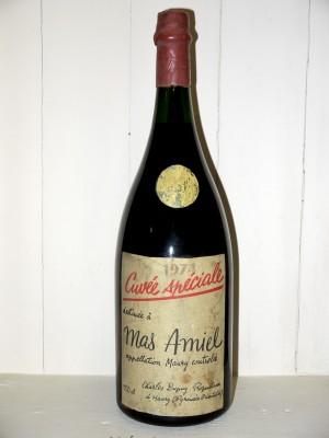 """Grands vins Autres régions Magnum Mas Amiel """"Cuvée Spéciale"""" 1974"""