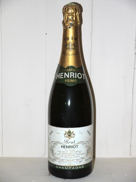 Champagne Henriot 1964 Brut Souverain