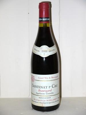 Grands vins Other Burgundy appellations Santenay 1er Cru Beauregard 1988 J.Moillard