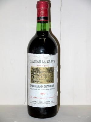 Château La Grave 1980