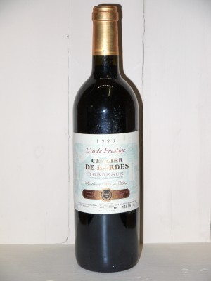 "Cellier de Bordes ""Cuvée Prestige"" 1998"