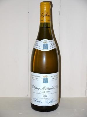 "Grands vins Chassagne-Montrachet - Puligny-Montrachet Puligny-Montrachet 1er Cru 1999 ""Champ Canet"" Olivier Leflaive"