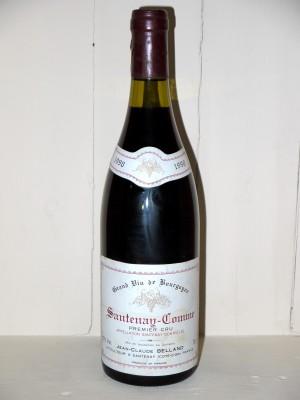 Grands crus Autres appellations de Bourgogne Santenay Comme 1er Cru 1990 Domaine Belland