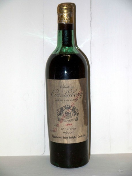 Château Cos Labory 1940