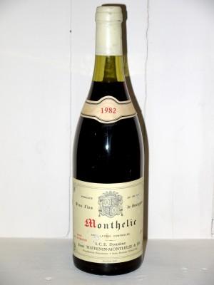 Grands vins Autres appellations de Bourgogne Monthelie 1982 Domaine Thévenin
