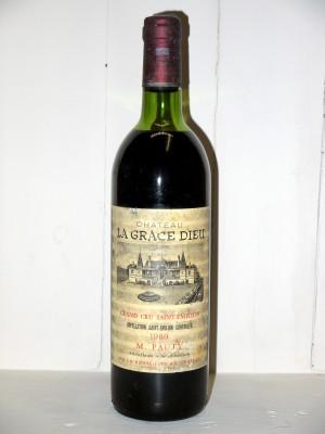 Château La Grace Dieu 1980
